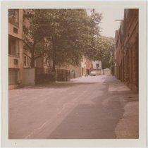 Image of [Grace Court Alley from Hicks Street.] - John D. Morrell photographs