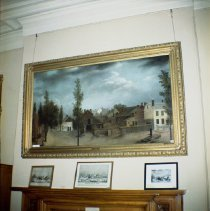 Image of [Guy's Painting of Brooklyn at Long Island Historical Society.] - John D. Morrell photographs