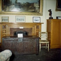 Image of [Old director's room, Long Island Historical Society.] - John D. Morrell photographs