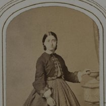 Image of [Woman Wearing Dress with Jacket] - Ramus family papers and photographs