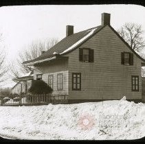 Image of Schenck House, 5217 Church Avenue - Ralph Irving Lloyd lantern slides