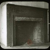 Image of Fireplace in Billop House - Ralph Irving Lloyd lantern slides