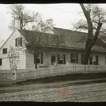 Image of Peter Wyckoff House, 1275 Flushing Avenue - Ralph Irving Lloyd lantern slides