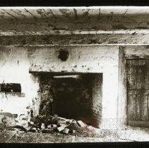 Image of Kitchen in Gerritsen Mill House, Gravesend - Ralph Irving Lloyd lantern slides