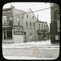 Image of Old House, 811 Flatbush Avenue - Ralph Irving Lloyd lantern slides