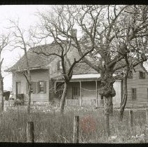 Image of Old house, Avenue L and Flatbush Avenue - Ralph Irving Lloyd lantern slides