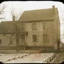 Image of Purdy Farmhouse, Bowery Bay Road - Ralph Irving Lloyd lantern slides