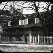 Image of Hicks-Platt House, Gravesend - Ralph Irving Lloyd lantern slides