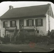 Image of House near Meeker Avenue Bridge - Ralph Irving Lloyd lantern slides