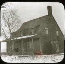 Image of Crooks Mill House - Ralph Irving Lloyd lantern slides