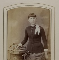 Image of [Portrait of Virginia E. Burton] - Burton family papers and photographs