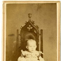 Image of [Portrait of girl] - Burton family papers and photographs