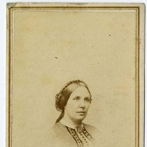 Image of [Portrait of woman] - Burton family papers and photographs