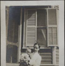 Image of [Man with child] - Burton family papers and photographs