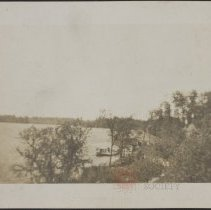 Image of [View of Tobyhanna lake] - Burton family papers and photographs