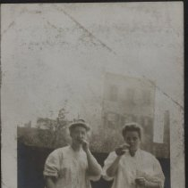 Image of The two devils - Burton family papers and photographs