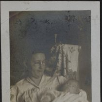 Image of Aunt Min and Bobs - Burton family papers and photographs