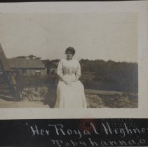 "Image of ""Her royal highness,"" Tobyhanna 09' - Burton family papers and photographs"