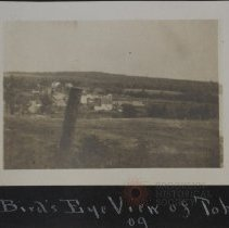 Image of Birds eye view of Toby 09' - Burton family papers and photographs
