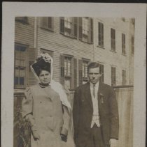 Image of Brother and sister 09' - Burton family papers and photographs