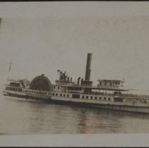 Image of [Steamboat] - Burton family papers and photographs