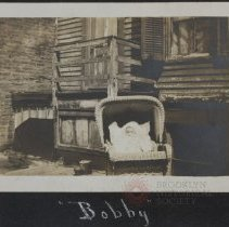 Image of Bobby - Burton family papers and photographs