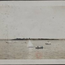Image of [Sailboats and rowboats] - Burton family papers and photographs