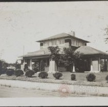 Image of [Front exterior of home] - Burton family papers and photographs