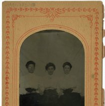 Image of [Portrait of three women] - Burton family papers and photographs