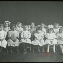 Image of [Group Portrait of Sunday School Class] - Emmanuel House lantern slide collection