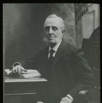 Image of Portrait of [George B. Young] - Emmanuel House lantern slide collection