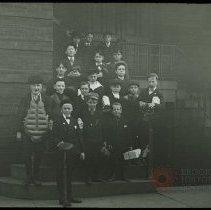 Image of Boys Club - Emmanuel House lantern slide collection
