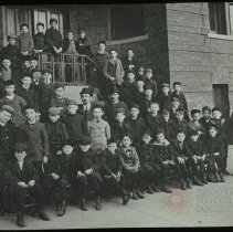 Image of Boys Club, Dr. H. - Emmanuel House lantern slide collection