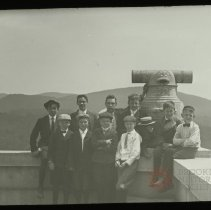 Image of Boys at West Point - Emmanuel House lantern slide collection