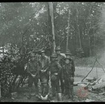 Image of [Scouts at Campsite] - Emmanuel House lantern slide collection