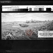 Image of Bird's Eye View of Property of New York Dock Company. - Borough Hall: Mirror of Change exhibit photograph collection