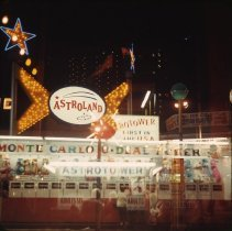 Image of Coney Island, [Astroland] - Otto Dreschmeyer Brooklyn slides