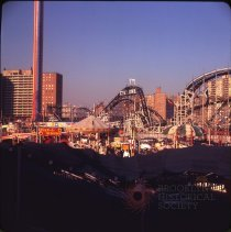 Image of Astro Park, Coney Island - Otto Dreschmeyer Brooklyn slides
