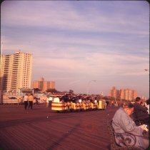 Image of Coney Island [boardwalk] - Otto Dreschmeyer Brooklyn slides