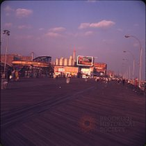 Image of [Boardwalk], Coney Island - Otto Dreschmeyer Brooklyn slides
