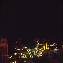 Image of [Rides at night], Coney Island - Otto Dreschmeyer Brooklyn slides