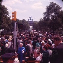Image of Kennedy Memorial - Otto Dreschmeyer Brooklyn slides