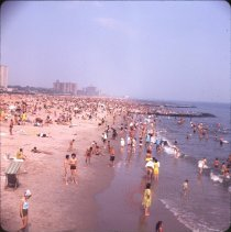Image of Coney Island [swimmers] - Otto Dreschmeyer Brooklyn slides