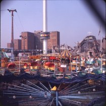 Image of Astro Park, Coney Island - Otto Dreschmeyer Brooklyn slides