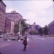Image of Memorial Day, After Parade - Otto Dreschmeyer Brooklyn slides