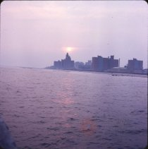 Image of Sun Set, Coney Island - Otto Dreschmeyer Brooklyn slides