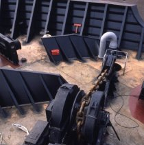 Image of [Anchor chain winches] - Frank J. Trezza Seatrain Shipbuilding collection