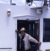 Image of [Electrical Supervisor (Frenchie)] - Frank J. Trezza Seatrain Shipbuilding collection