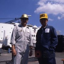 Image of [V.P. of Construction and Chief Engineer] - Frank J. Trezza Seatrain Shipbuilding collection
