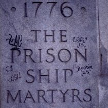 Image of [Monument for prison ship martyrs in Fort Greene Park] - Frank J. Trezza Seatrain Shipbuilding collection